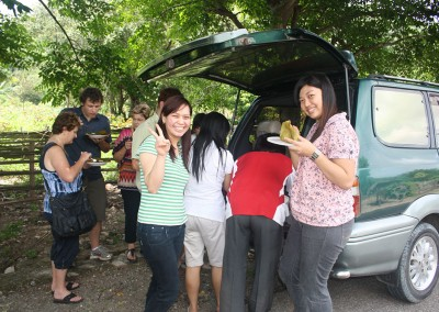 Resident doctors with team on way back to Dili